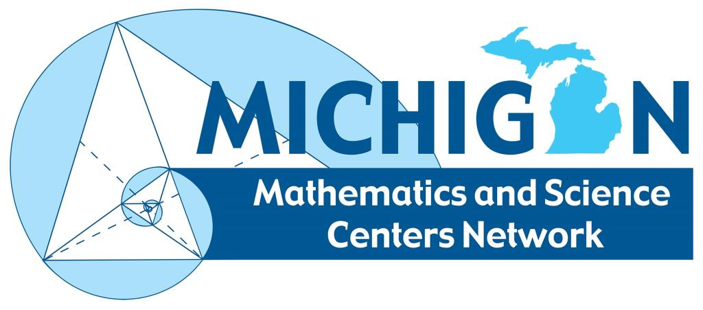 MI Math Science Centers Network New Logo